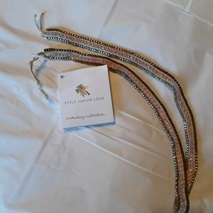 Noonday Collection Sofiya wrap bracelet, NWT